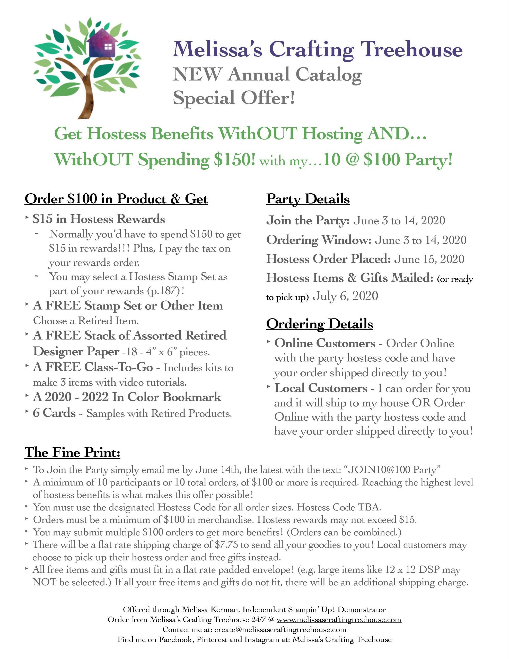 special offer flyer June 2020