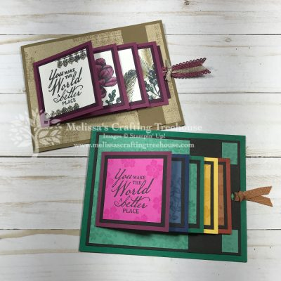 Waterfall Cards with New Catalog Products!