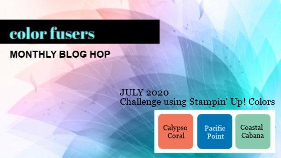 July 2020 Color Challenge and Blog Hop!