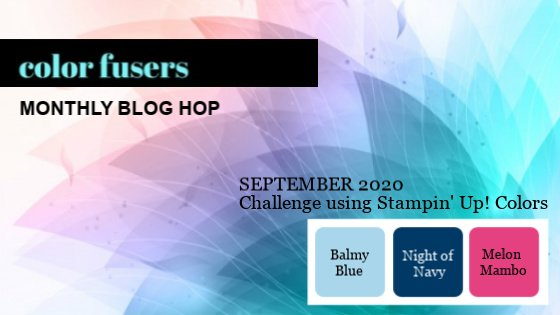 September 2020 Color Challenge and Blog Hop!