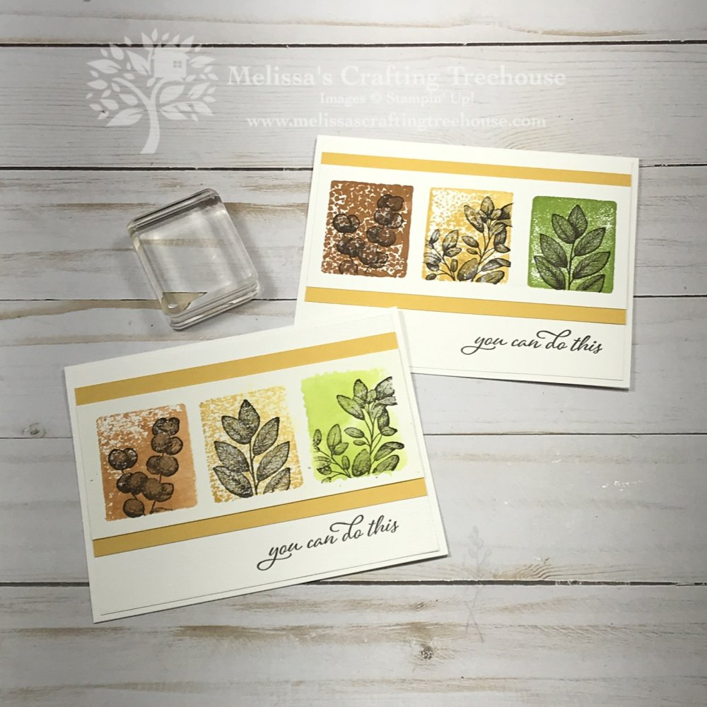 Stamping with Acrylic Blocks is so simple and fun! Check out these 7 Ways to Use Acrylic Blocks in your stamping with the Forever Fern Stamp Set.