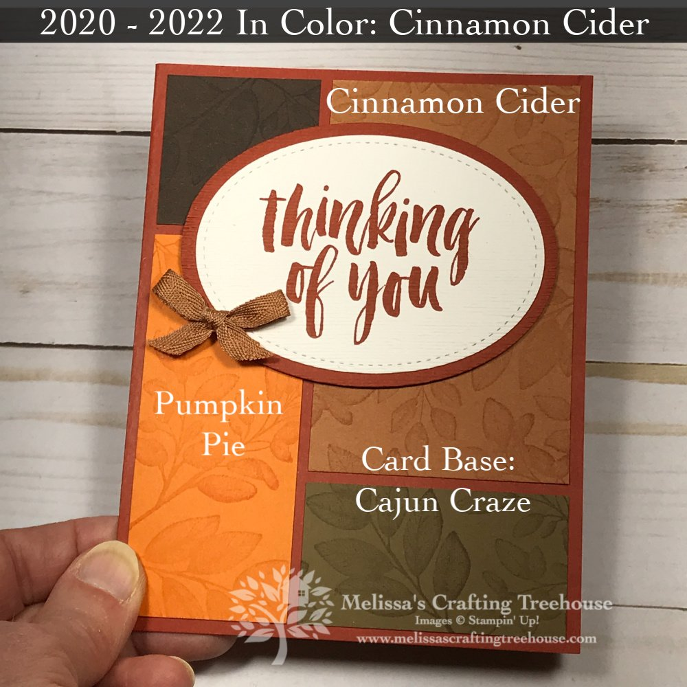 Check out these 7 Cards with the 2020-2022 In-Colors! You'll see 3 card layouts plus 5 monochromatic color schemes that show off these awesome new colors.