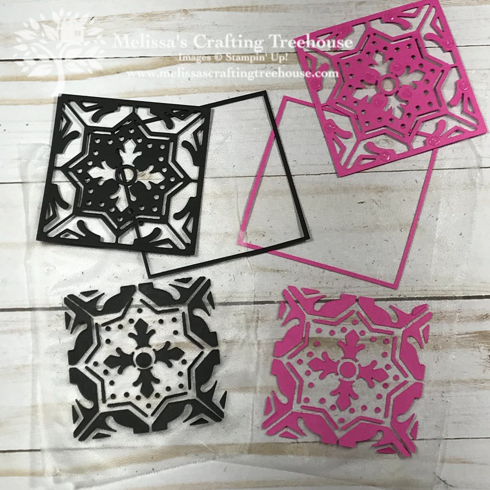 Today's post features several designs with the Field Tiles Dies and the Paper Piecing Press n Seal technique plus more fun variations not to be missed!