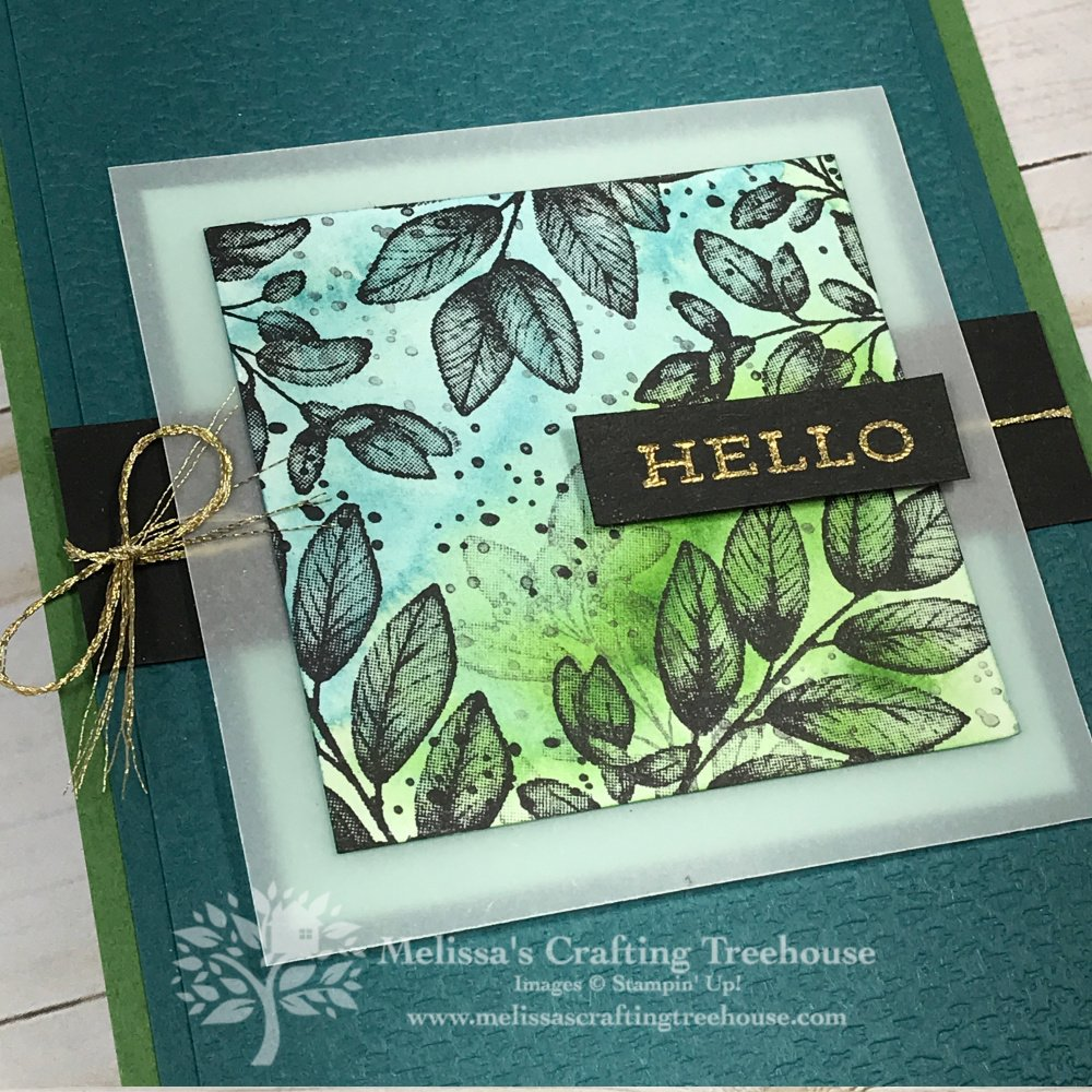Check out these three Z-Fold Card Ideas! One card features the NEW Forever Fern Stamp Set and the other two are made with the Painted Harvest set.