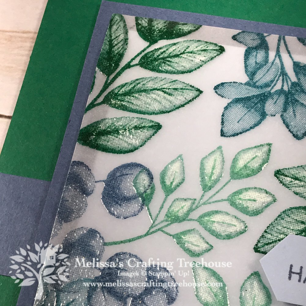 Dry Embossing with Vellum Sneak Peek
