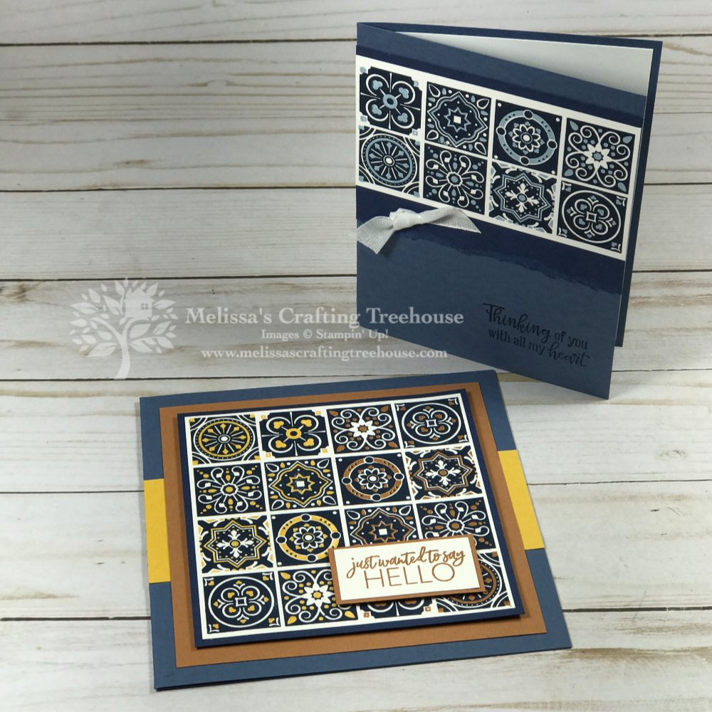 today's tiles stamp set stampin' up!