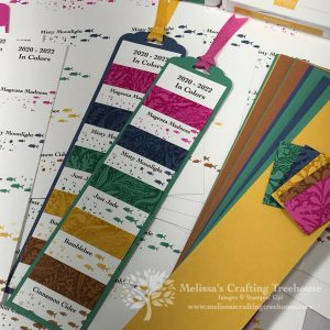 Check out this fun way to use the NEW Seabed embossing folder with the 2020 - 2022 In-Colors, plus see my NEW products and a behind the scenes tour!
