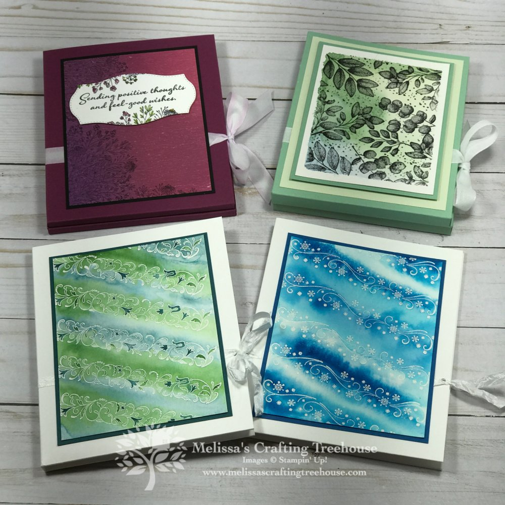 Today's folio and cards make a great gift Idea with the Forever Fern Set! This large size folio fits about 5 cards and envelopes.