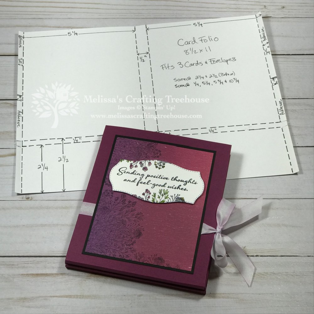 See 3 greeting card folio tutorials ranging from simple to more complex. Each folio includes coordinating cards, making them each great for gift giving.