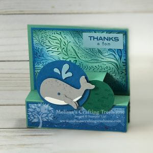 Whale of a Time Fun Fold Card