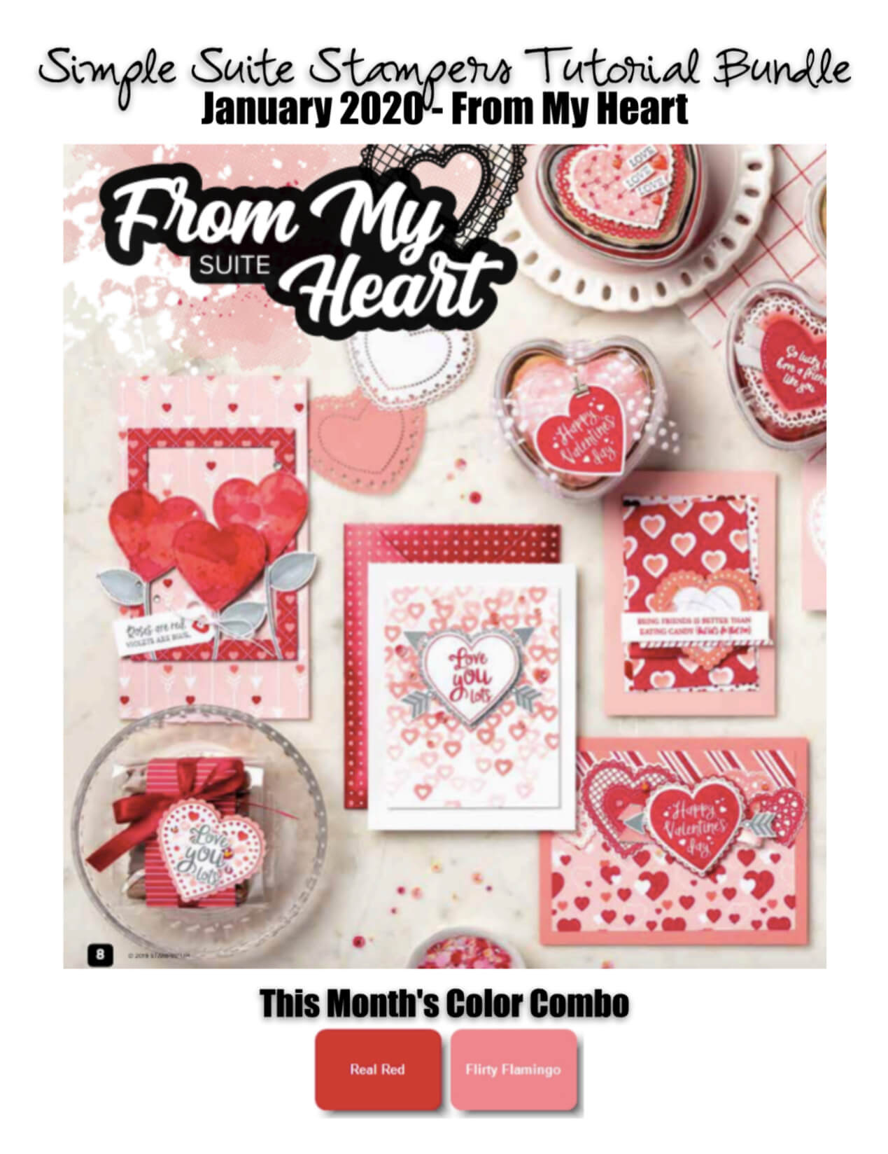 From My Heart Tutorial Bundle