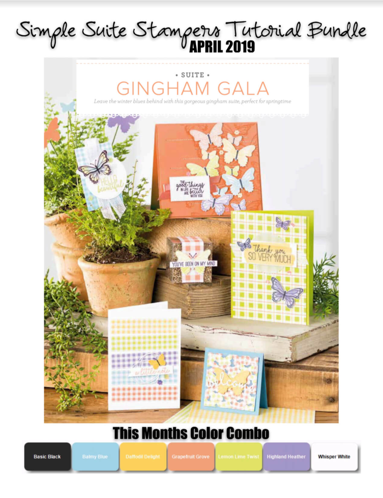 Ginham Gala Tutorial Bundle