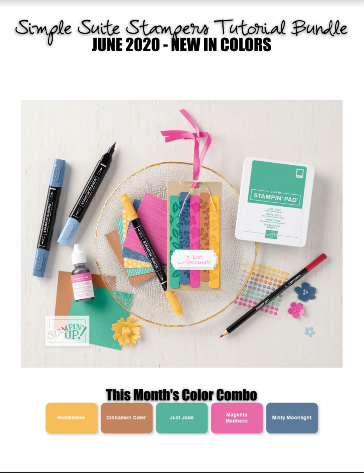 2020 - 2022 In-Colors Tutorial Bundle