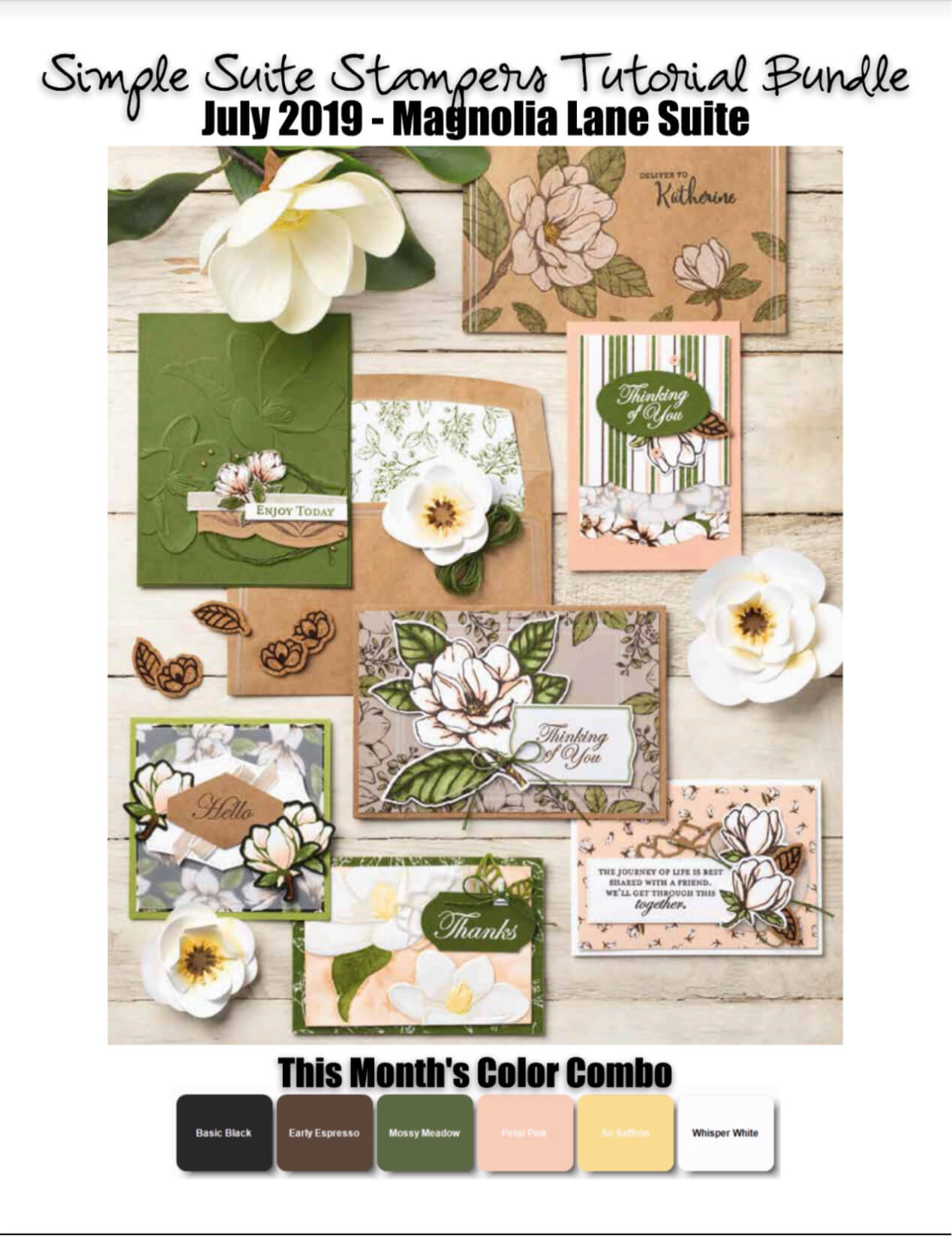 Magnolia Lane Tutorial Bundle