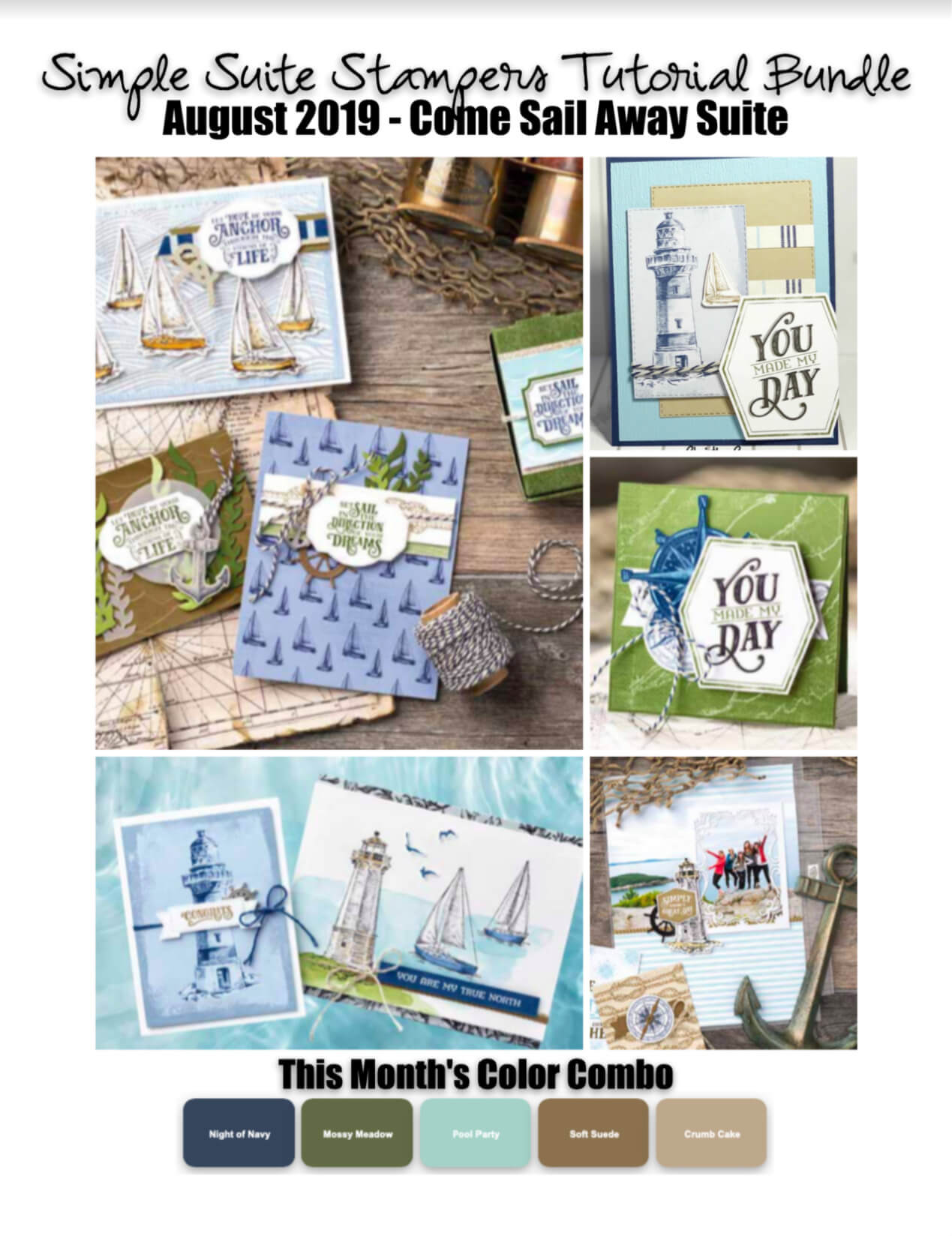 Come Sail Away Tutorial Bundle