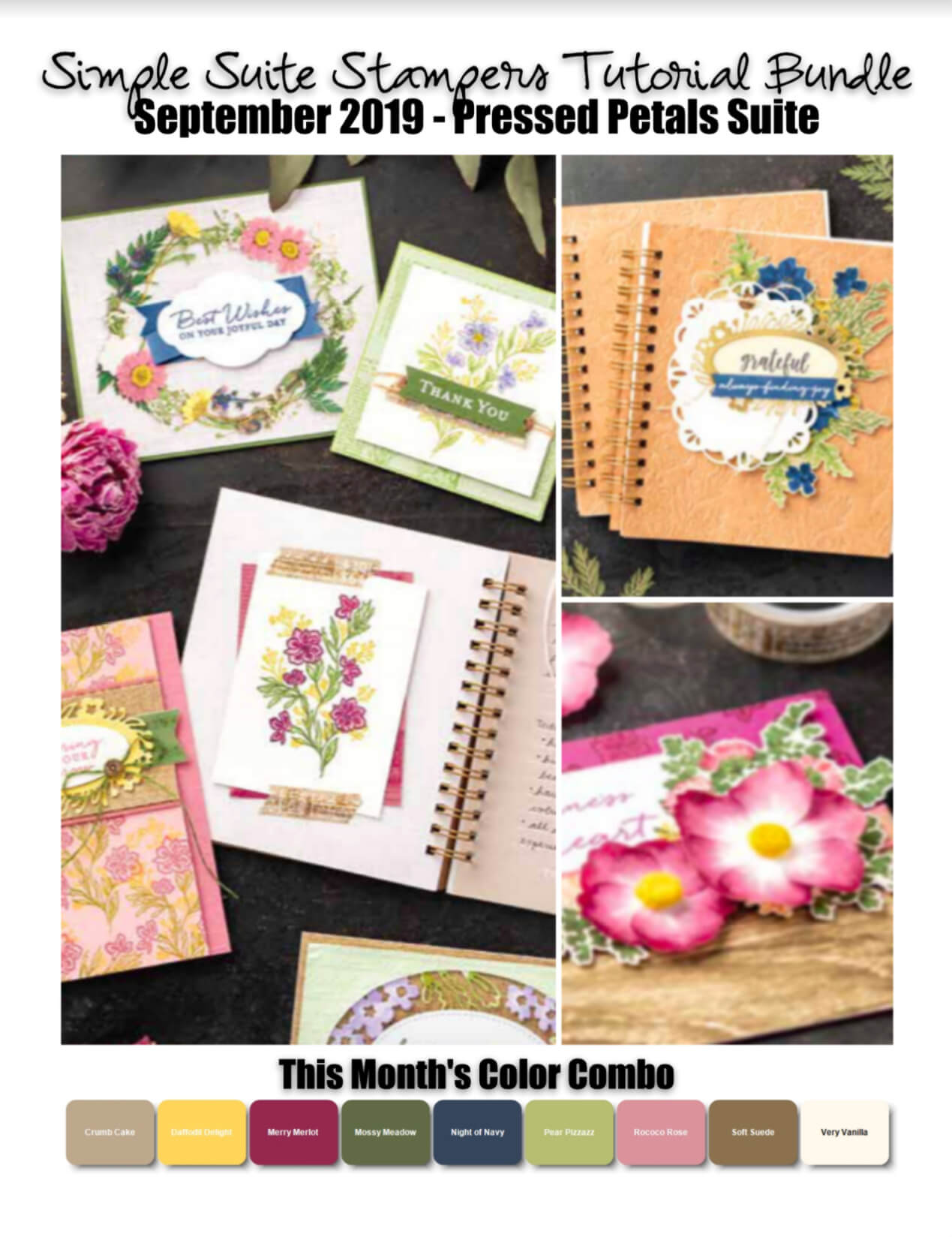 Pressed Petals Tutorial Bundle
