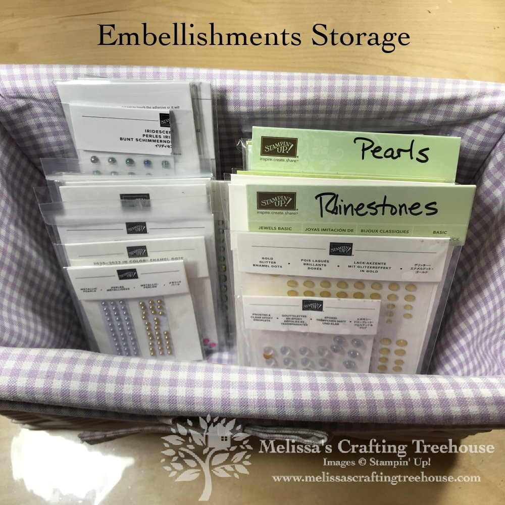 Today's post focuses on a craft room tour and how I organize my paper crafting supplies. A Facebook Live video tour of my studio is included.