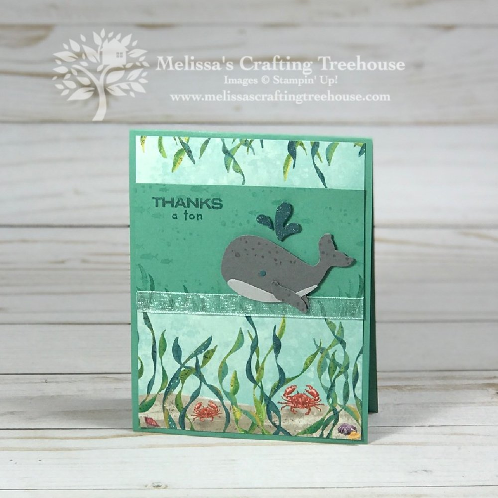 Check out the August Simple Suite Stampers Tutorial Bundle with three sneak peek projects that feature the Whale of a Time suite.