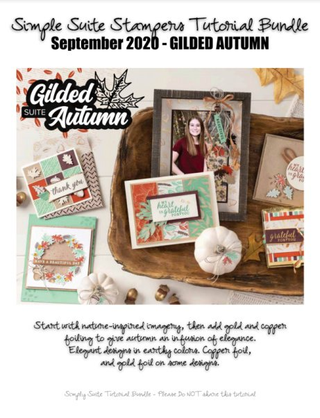 Gilded Autumn Tutorial bundle