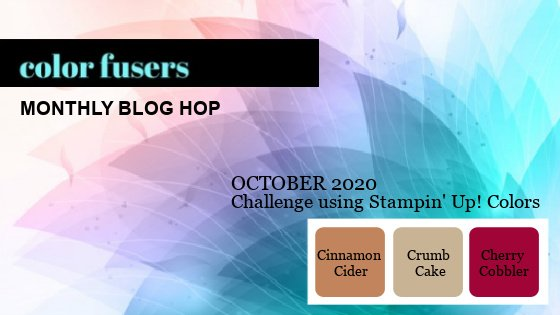 October 2020 Color Challenge and Blog Hop!
