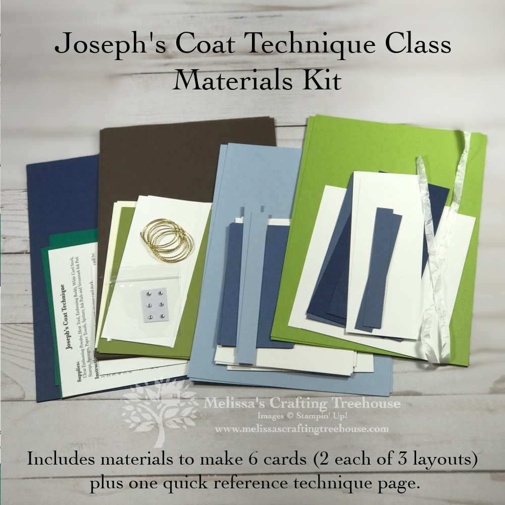 Josephs Coat Materials Kit