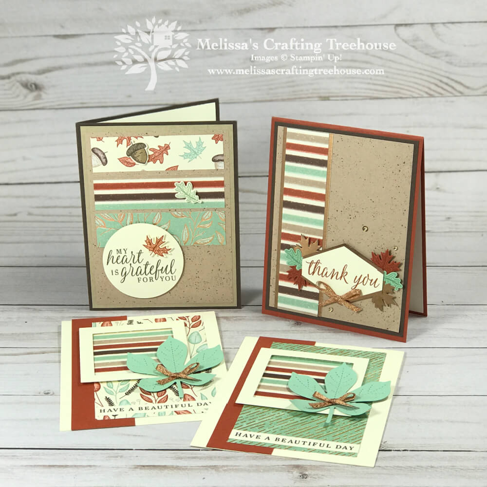 Today's post features 3 sneak peek projects from the September 2020 Simple Suite Stampers Tutorial Bundle made with the Gilded Autumn Suite.