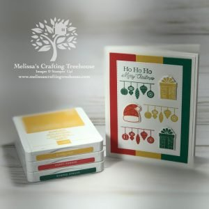 Check out the November 2020 Color Challenge and Blog Hop! My project features a Christmas card made with the Little Treats Bundle.