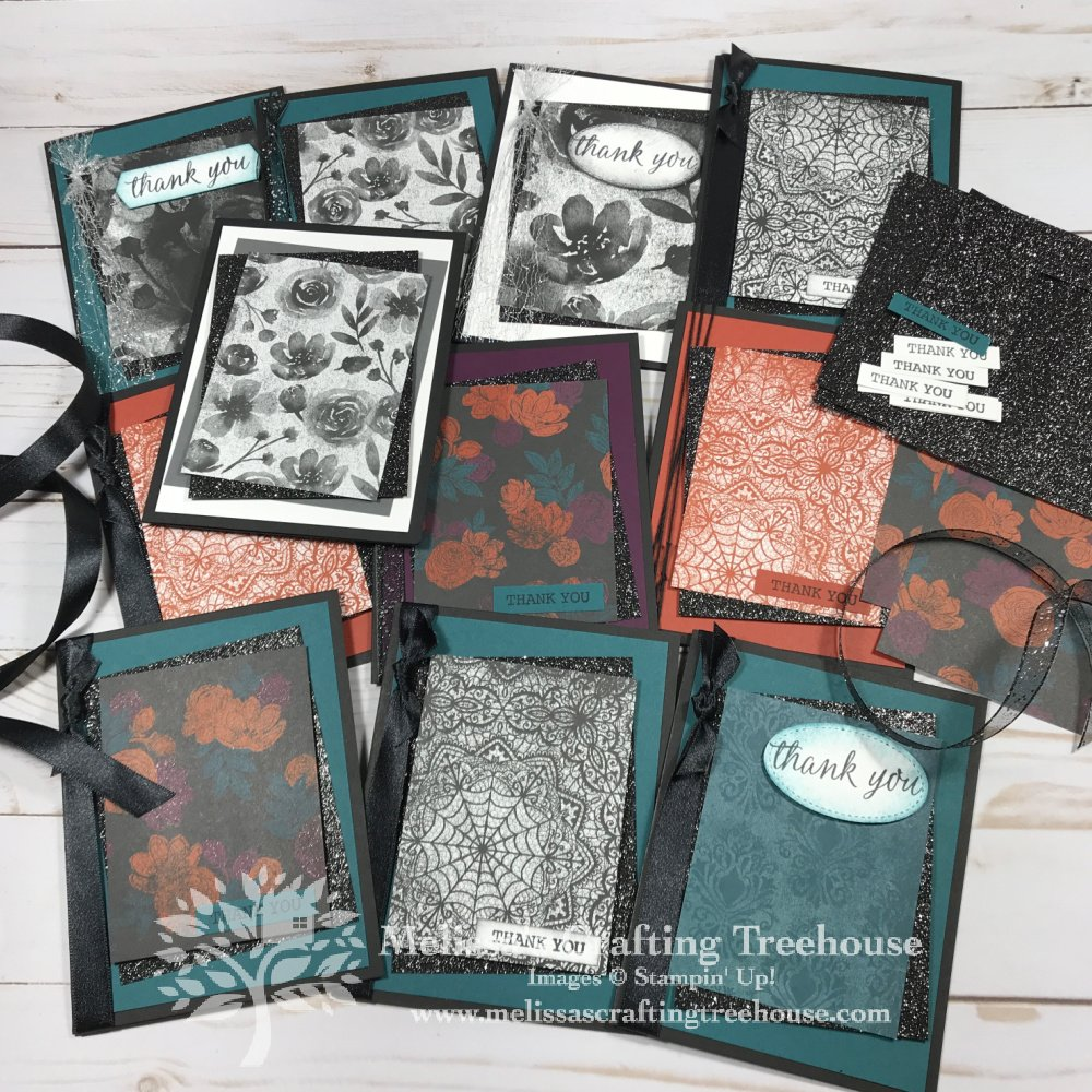 The Magic In This Night Suite is NOT just for Halloween! Check out these 3 tutorial-bundle sneak peek projects featuring this suite!