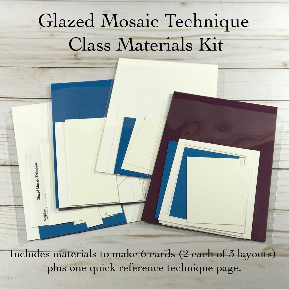 Glazed Mosaic Materials Kit
