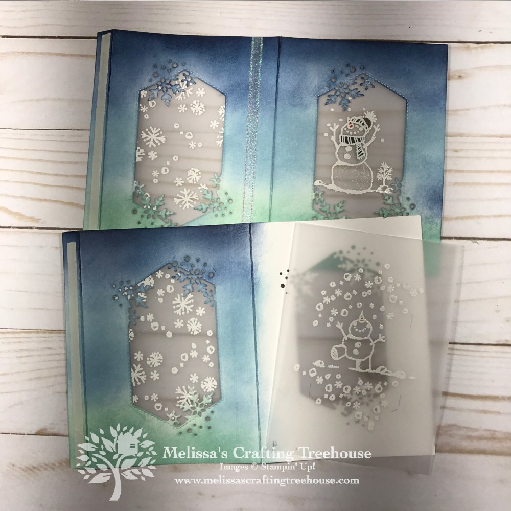 In today's post, I'll be sharing two 3d projects with the Snowman Season and In The Pines sets. These make great gifts or Christmas decor!
