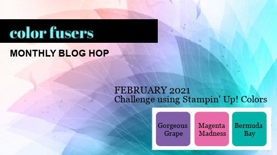 February 2021 Color Challenge