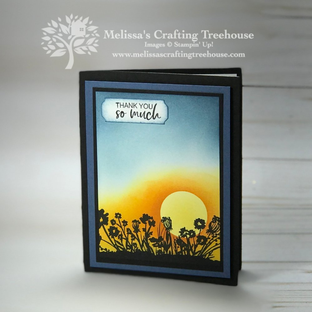Get products for FREE during Sale-A-Bration! Today's Corner Bouquet Sunrise Cards feature items you can get for FREE with qualifying orders!