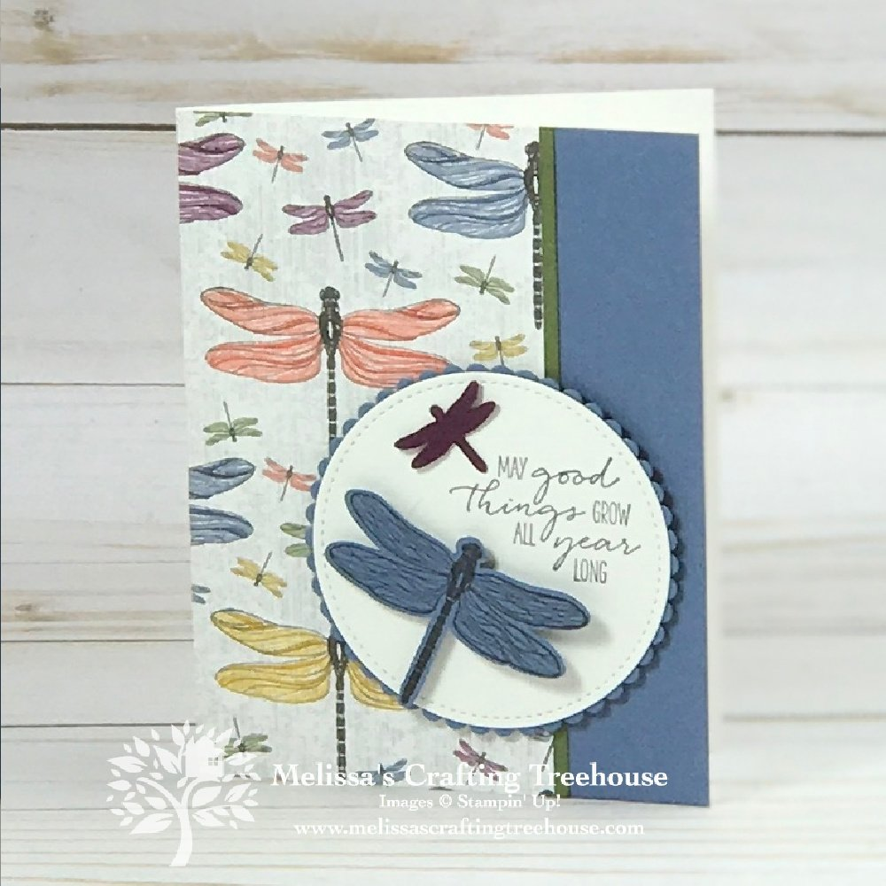 Cards with moving parts are the most fun! Today's card has an easy-to-create element, that adds a playful little surprise anyone would love.