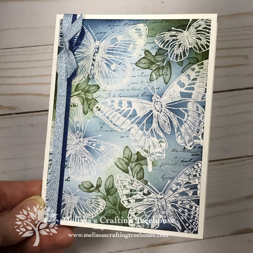 Learn simple variations of the Emboss Resist Technique with the Butterfly Brilliance Stamp Set. Plus, see 8 additional project samples!