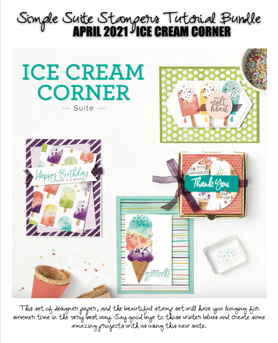Sweet Ice Cream Tutorial Bundle