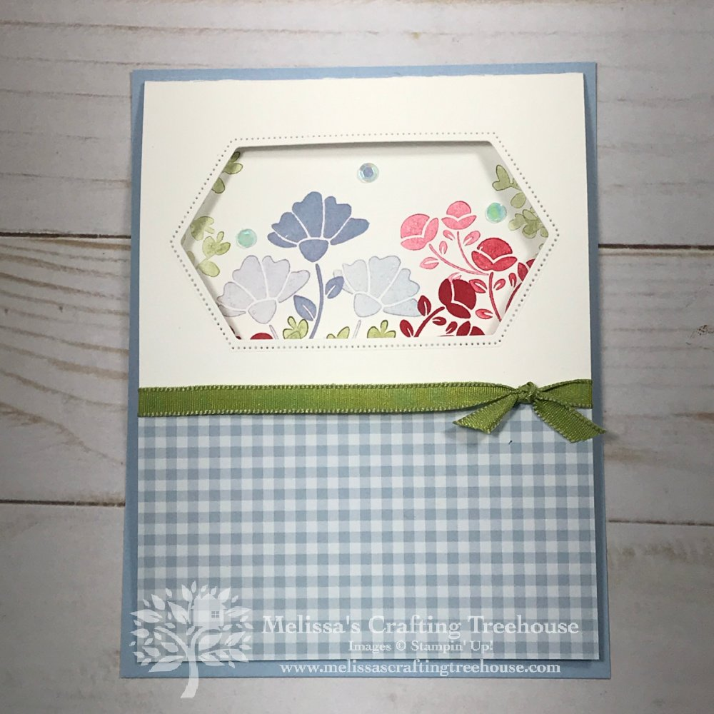 Check out the April 2021 Color Challenge & Blog Hop! My card features the Lovely You Stamp Set and a fun simple window.