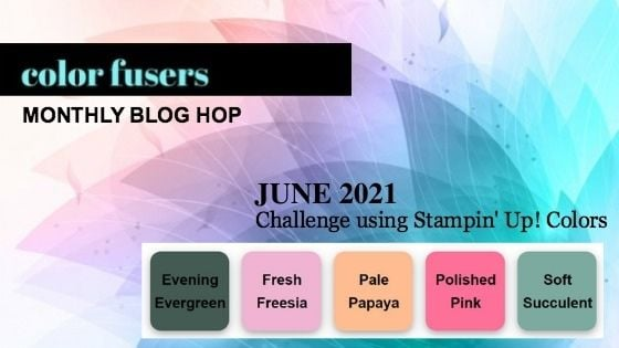 June 2021 Color Challenge and Blog Hop