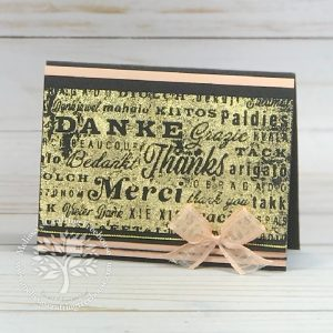 Check out the July 2021 Color Challenge & Blog Hop! My card features the Thanks & Hello Embossing Folders & Gilded Leafing.