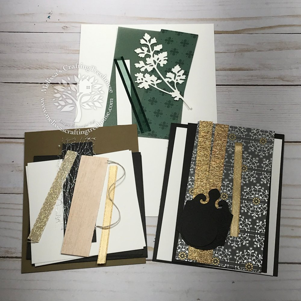 Check out the amazing Elegantly Said Product Suite & Metallic Specialty paper featured in today's simple, stunning cards. Club Card Kits