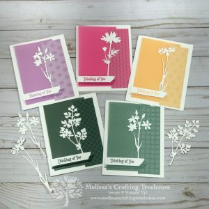 The 2021-2023 In Colors are amazing. Today's cards showcase some of the new products in these colors with the awesome new Meadow Dies!
