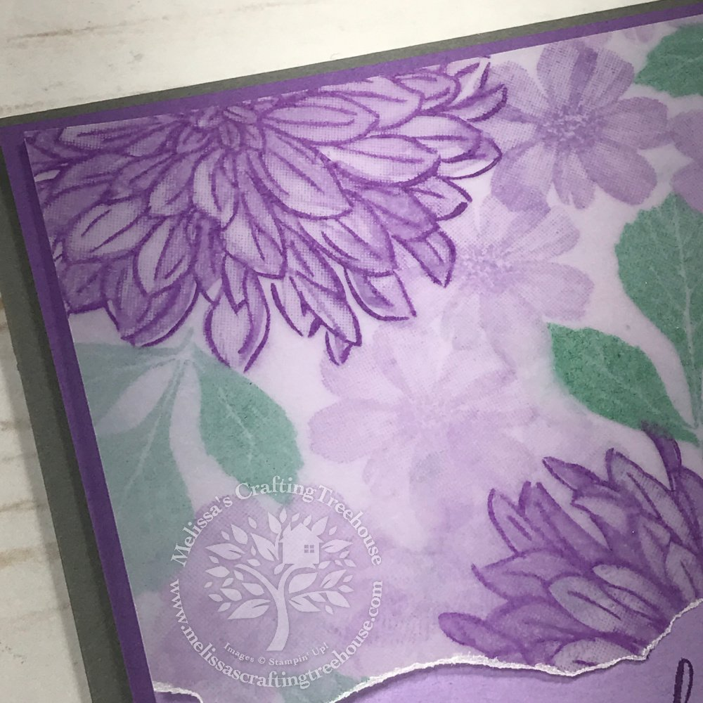 Check out the August 2021 Color Challenge & Blog Hop! I LOVE these colors! Plus, my project features the Delicate Dahlias Sale-A-Bration Set.