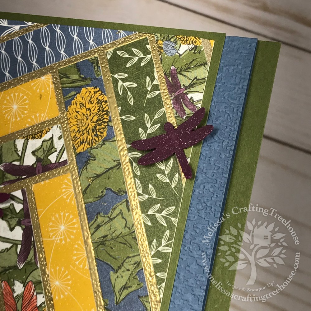 See My Latest Favorite Way to Use Gilded Leafing and Paper Scraps! You are going to love how easy and fun this is!